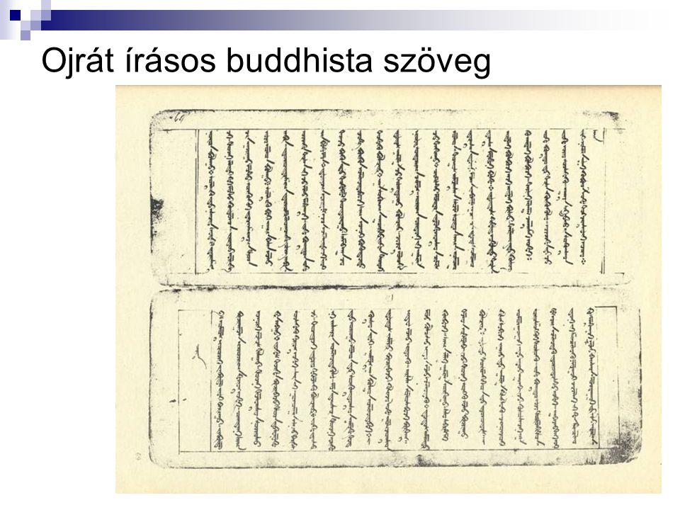 Ojrát írásos buddhista szöveg