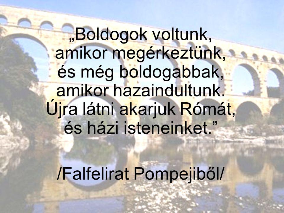 /Falfelirat Pompejiből/