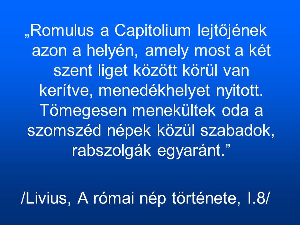 /Livius, A római nép története, I.8/