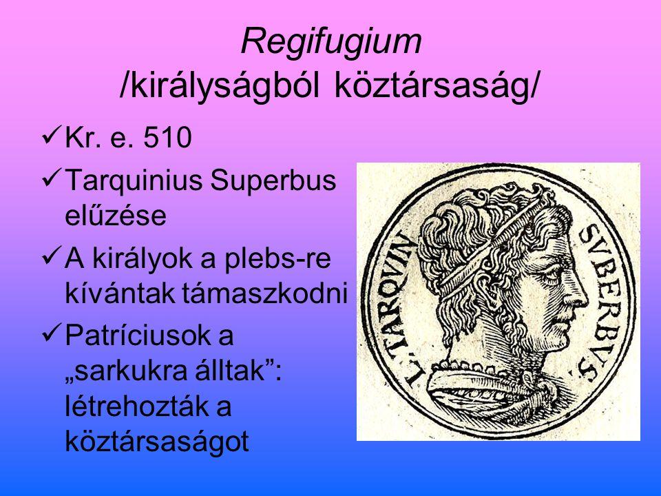 Regifugium /királyságból köztársaság/