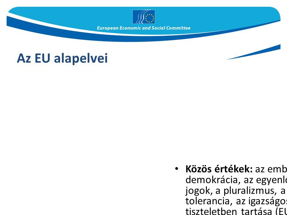 Az EU alapelvei
