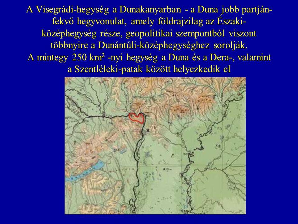A Visegrádi-hegység a Dunakanyarban - a Duna jobb partján- fekvő hegyvonulat, amely földrajzilag az Északi-középhegység része, geopolitikai szempontból viszont többnyire a Dunántúli-középhegységhez sorolják.