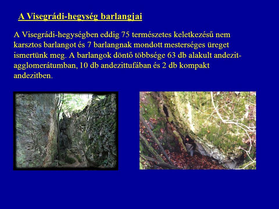 A Visegrádi-hegység barlangjai