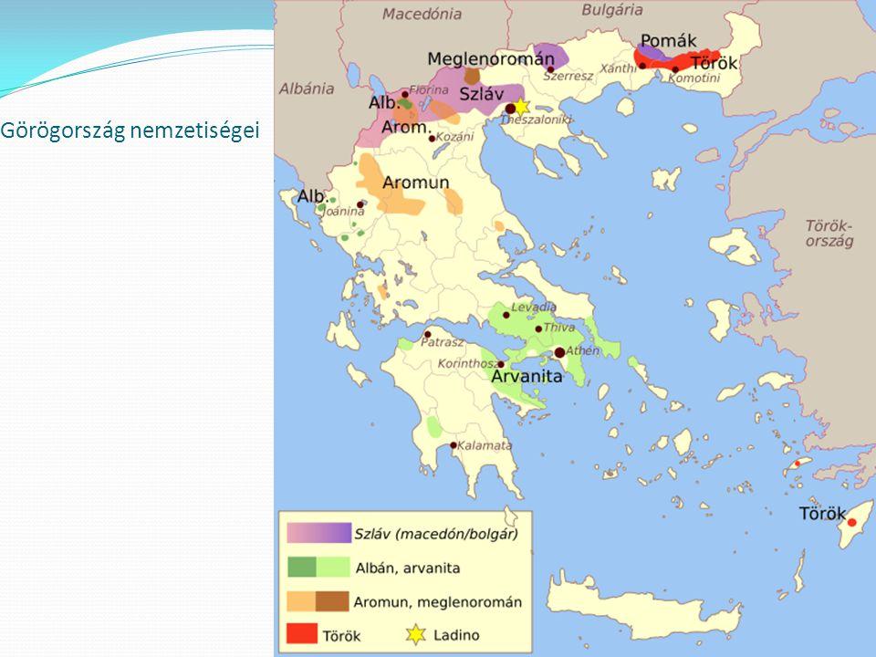 Görögország nemzetiségei Görögország nemzetiségei