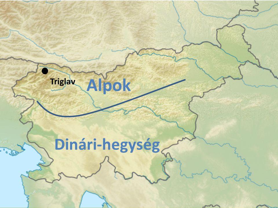 Triglav Alpok Dinári-hegység