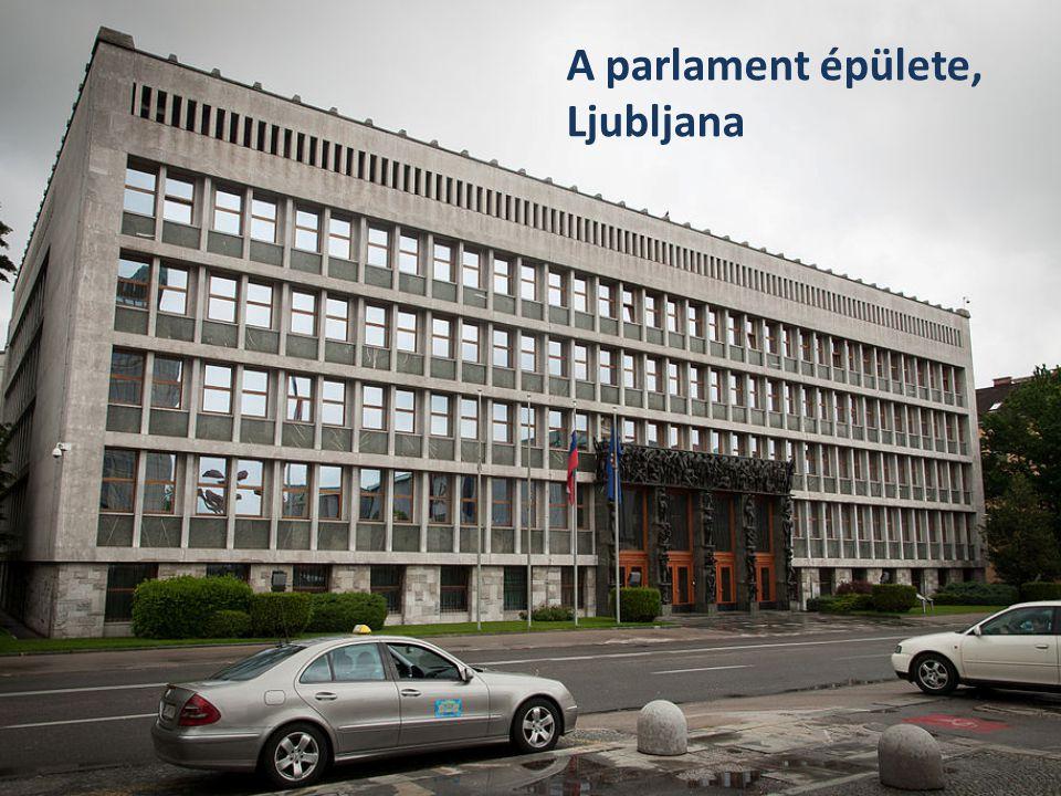A parlament épülete, Ljubljana