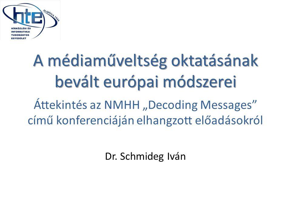 A médiaműveltség oktatásának bevált európai módszerei
