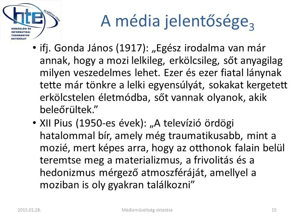 Médiaműveltség oktatása