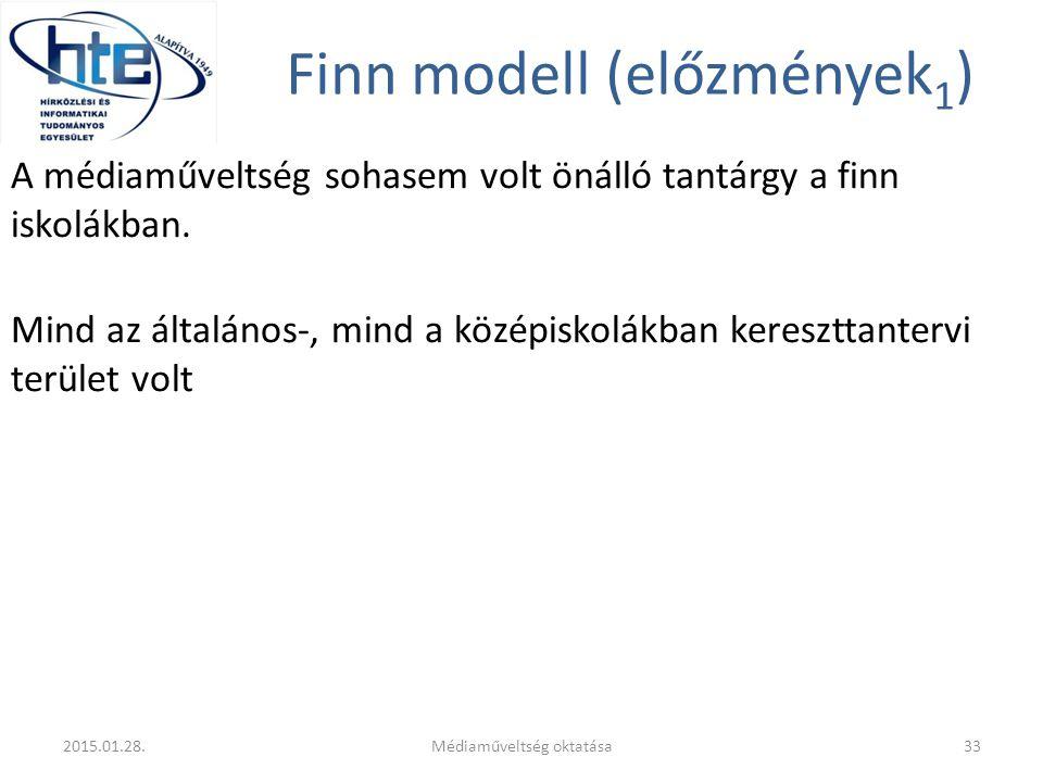 Finn modell (előzmények1)