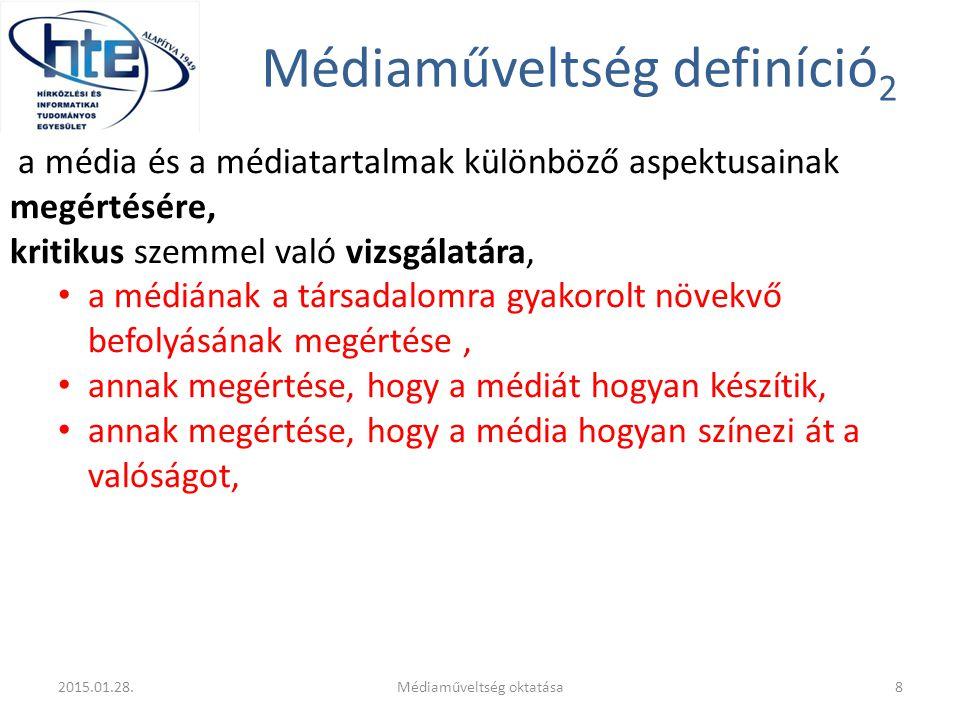 Médiaműveltség definíció2
