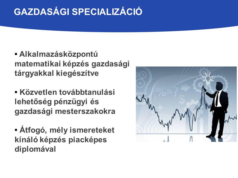 Gazdasági Specializáció