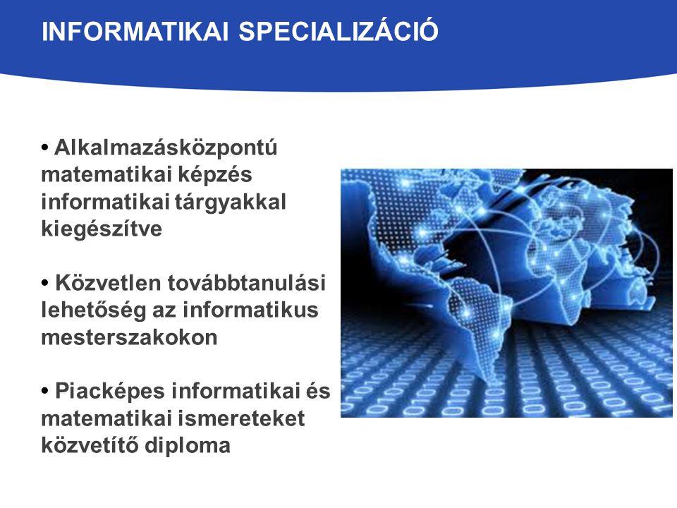 Informatikai specializáció