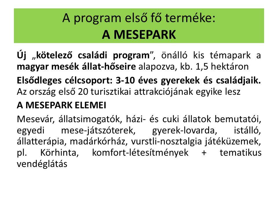A program első fő terméke: A MESEPARK
