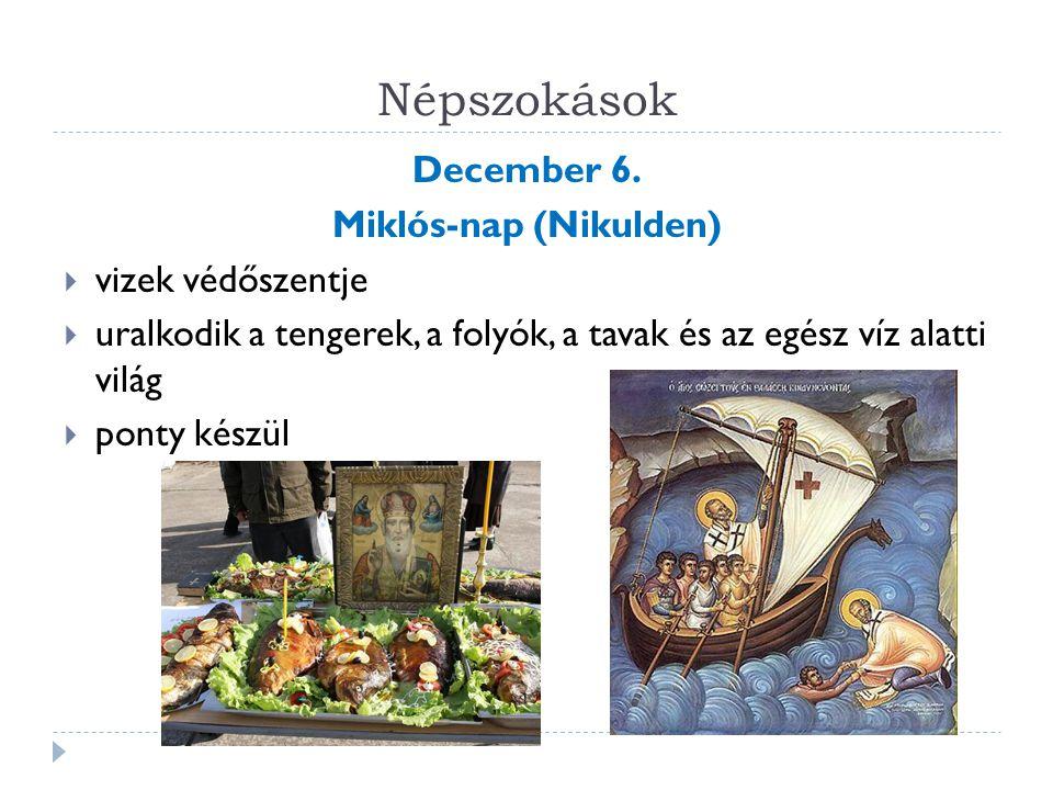 Miklós-nap (Nikulden)