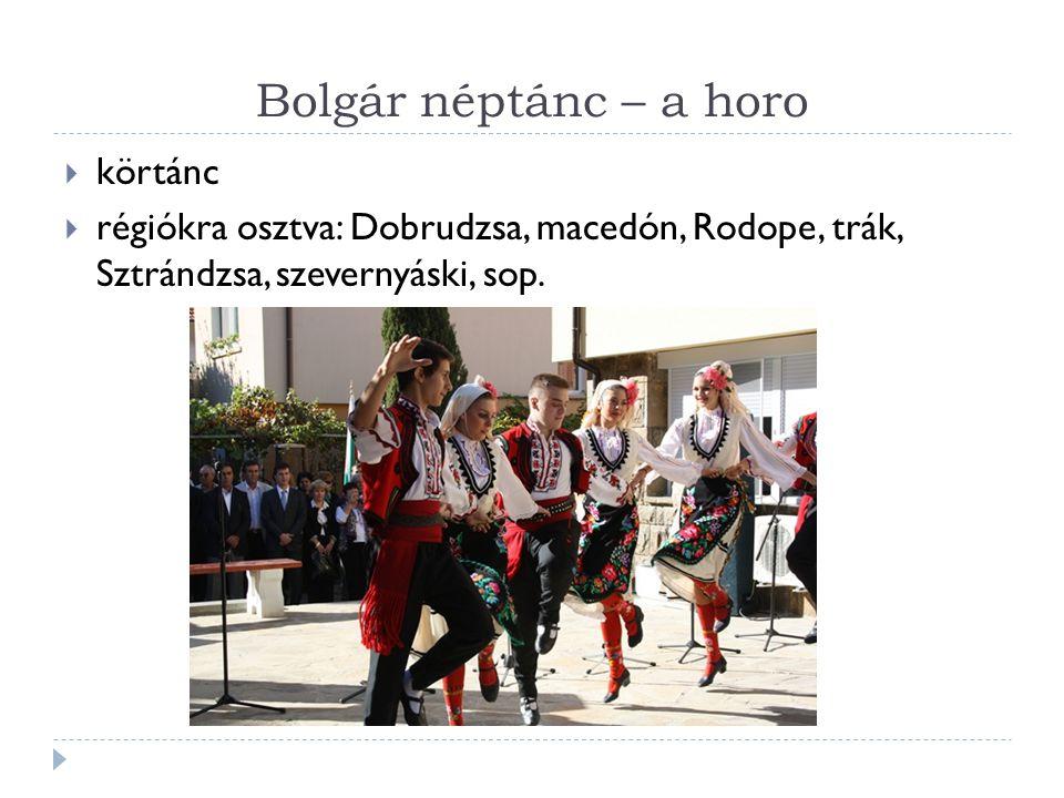 Bolgár néptánc – a horo körtánc