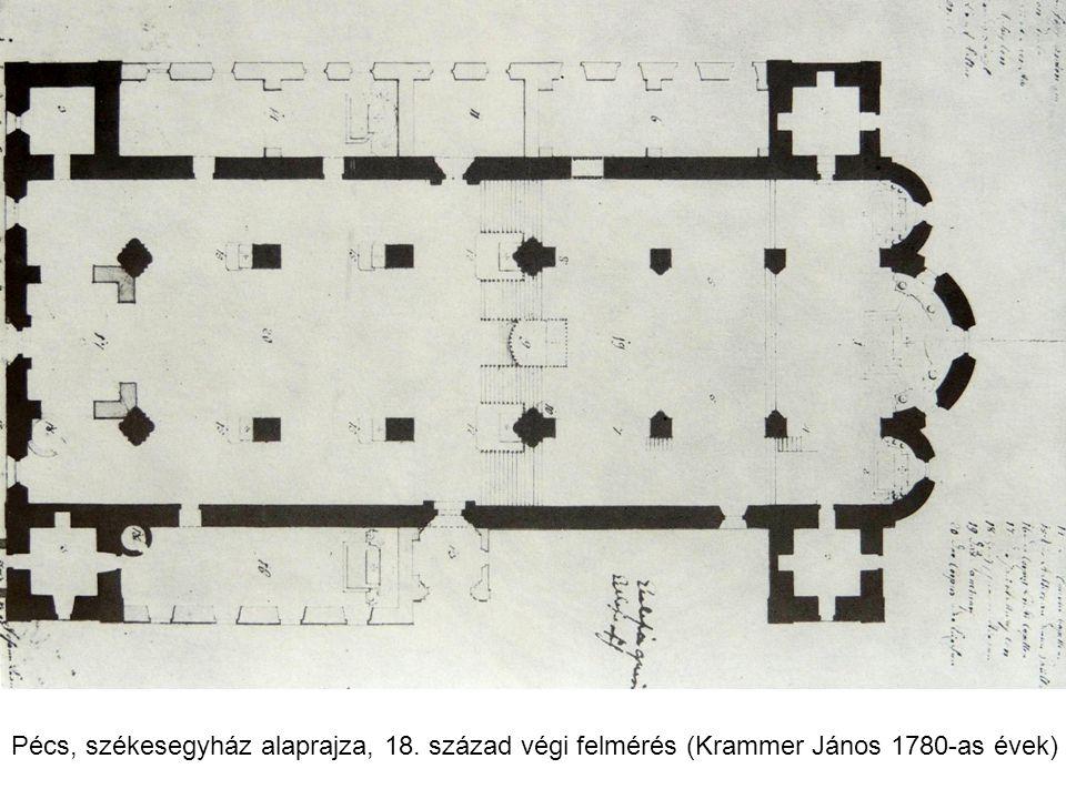 Pécs, székesegyház alaprajza, 18