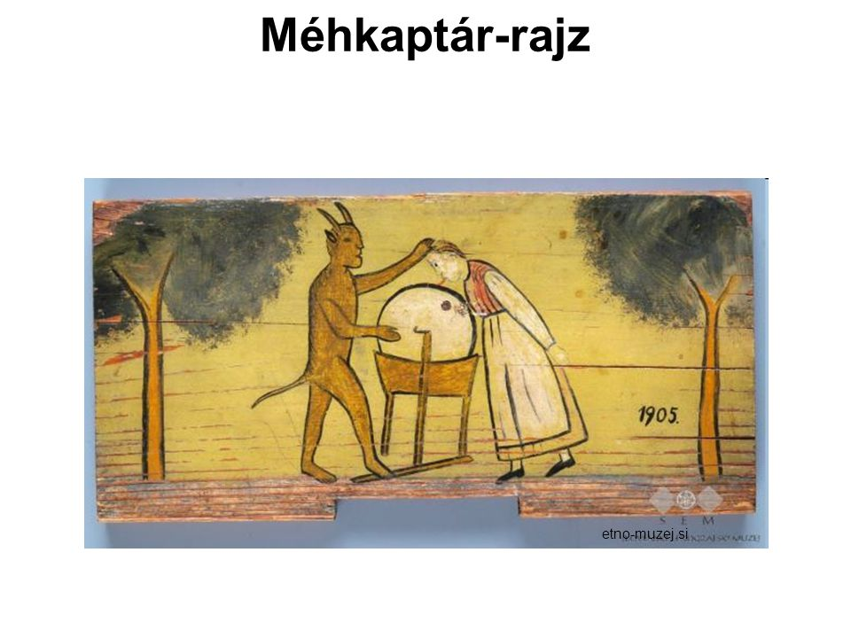 Méhkaptár-rajz etno-muzej.si