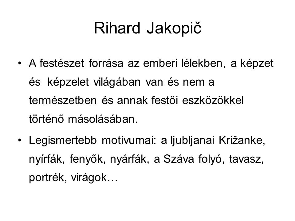 Rihard Jakopič