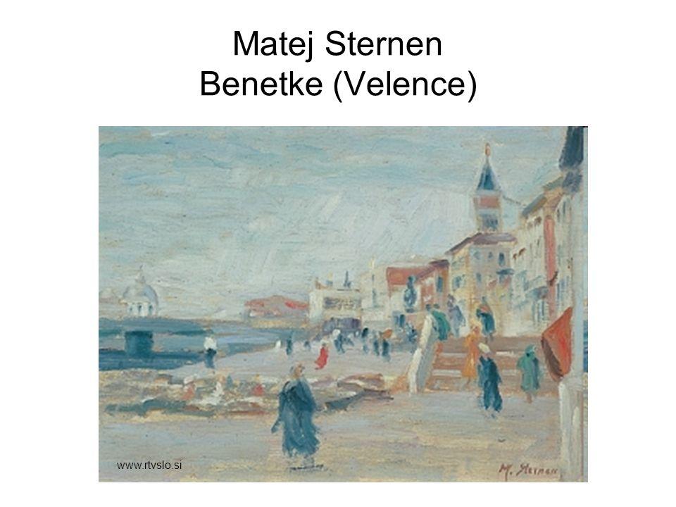 Matej Sternen Benetke (Velence)