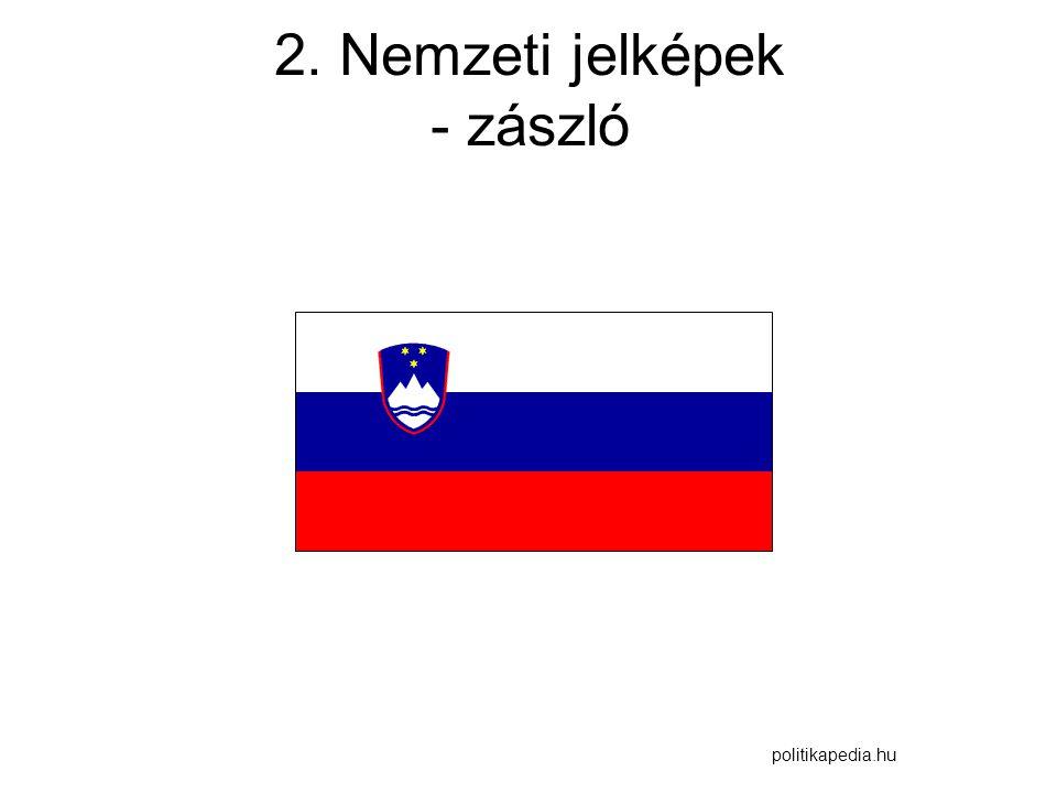 2. Nemzeti jelképek - zászló
