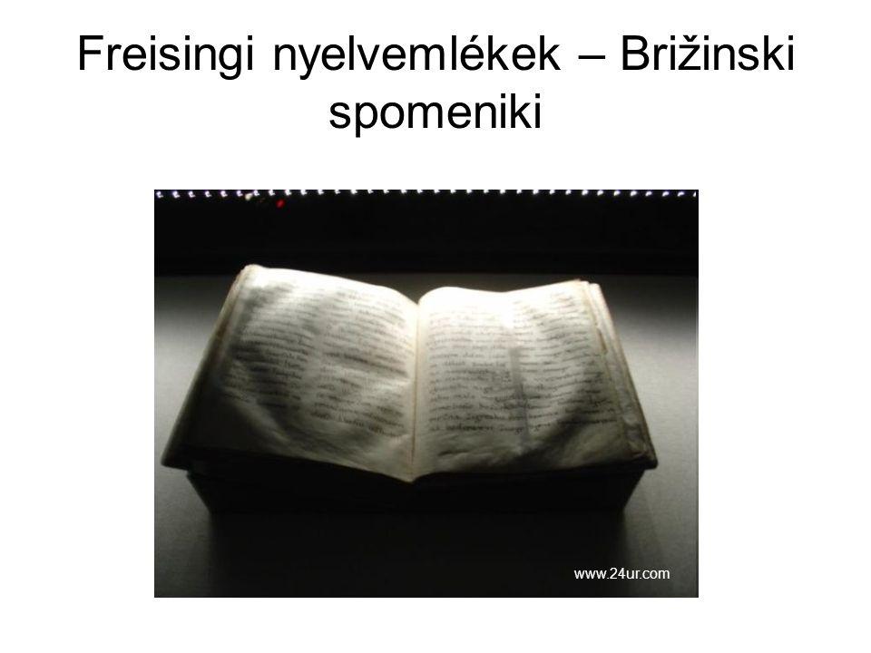 Freisingi nyelvemlékek – Brižinski spomeniki