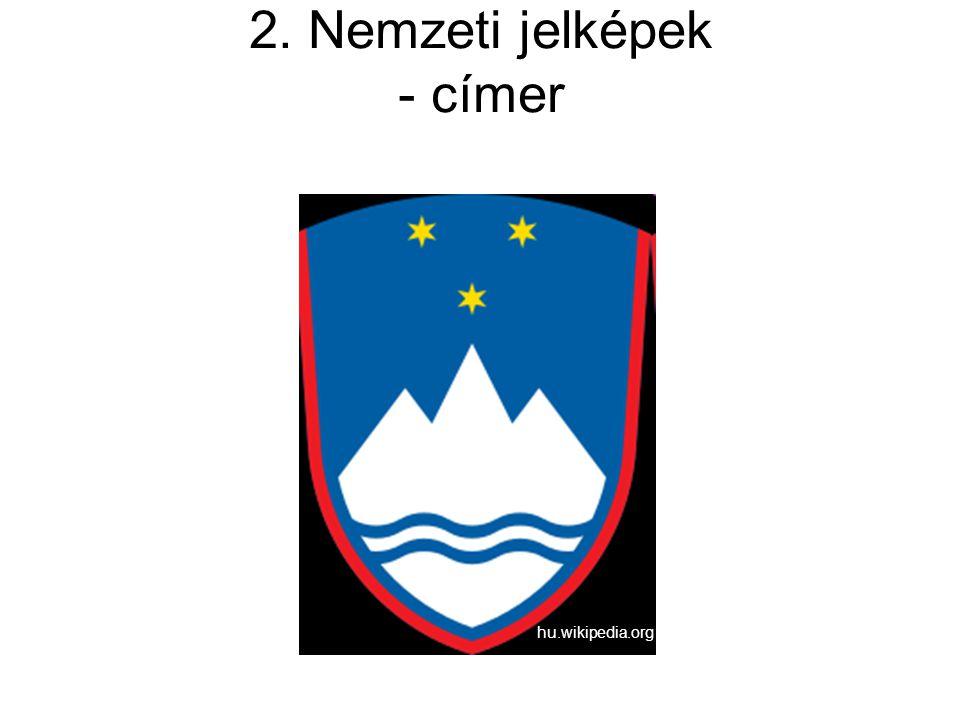 2. Nemzeti jelképek - címer