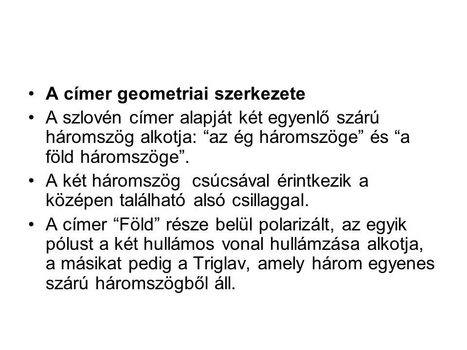 A címer geometriai szerkezete