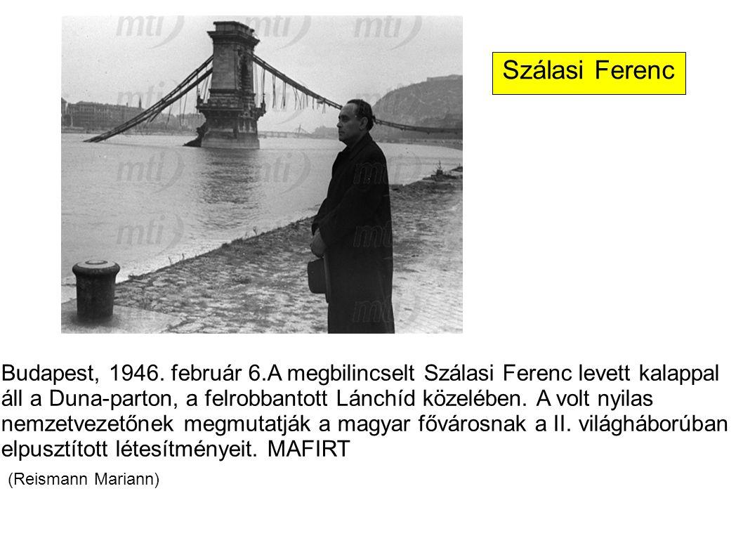 Szálasi Ferenc (Reismann Mariann)