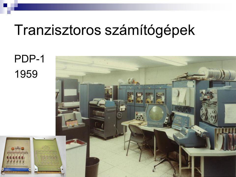 Tranzisztoros számítógépek