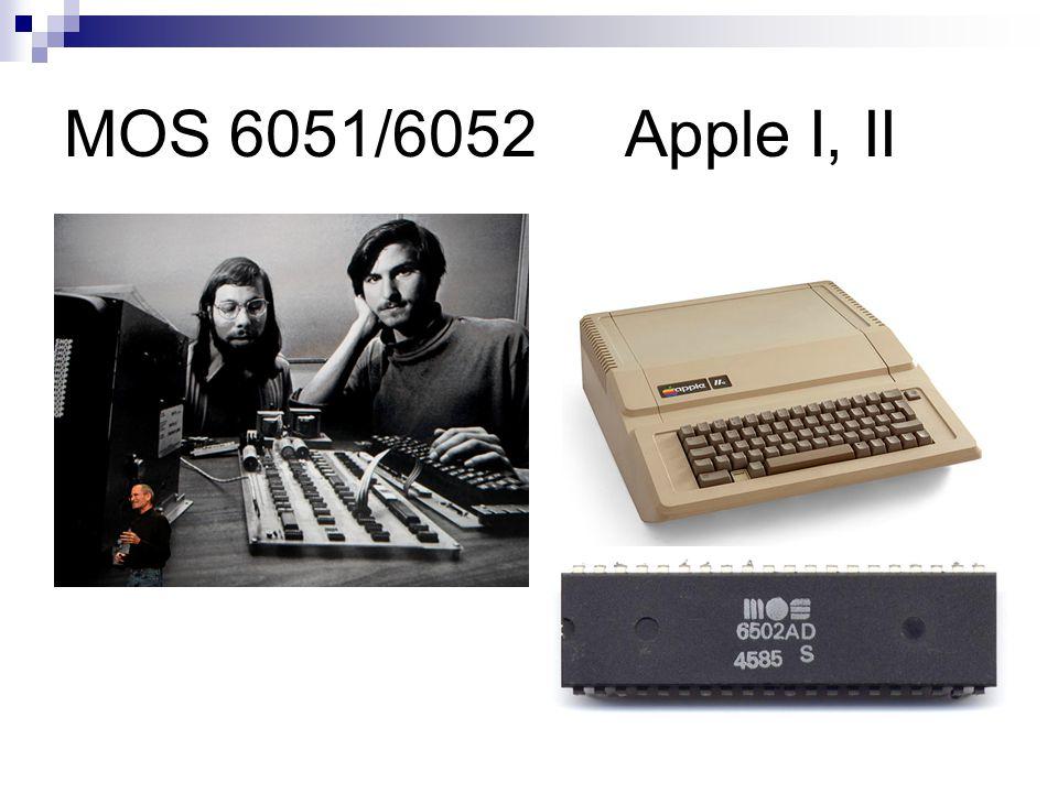 MOS 6051/6052 Apple I, II