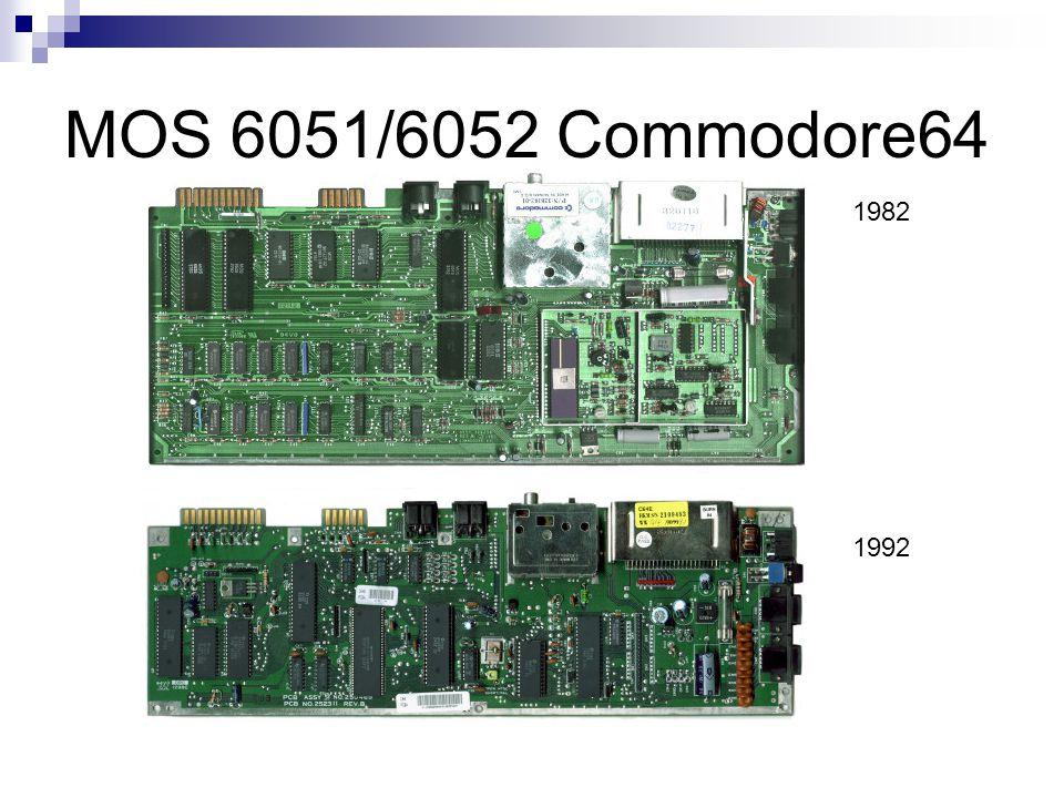 MOS 6051/6052 Commodore64 1982 1992