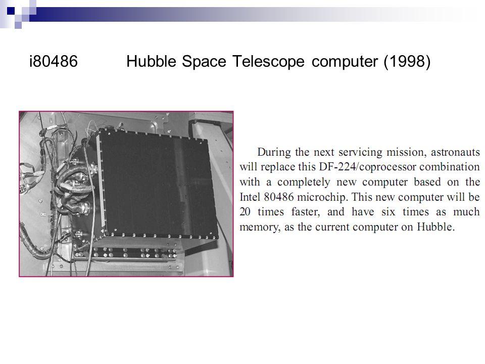 i80486 Hubble Space Telescope computer (1998)