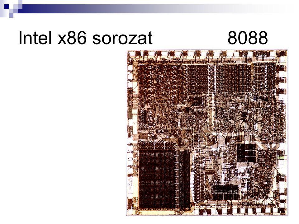 Intel x86 sorozat 8088