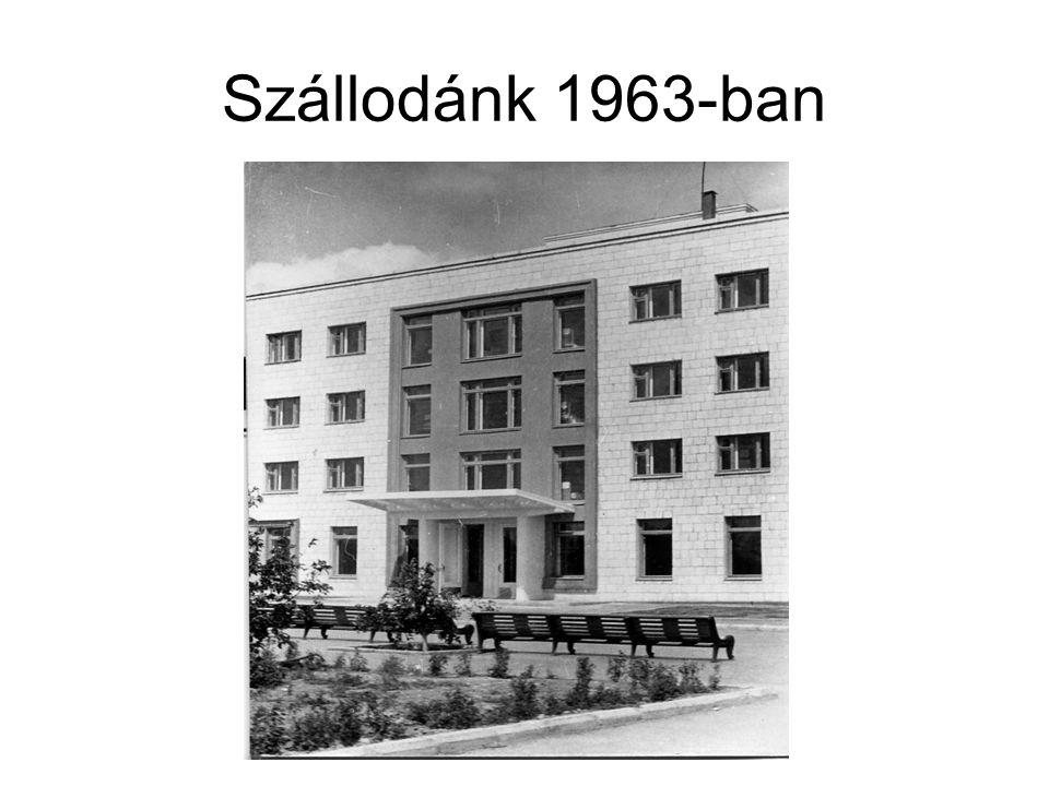 Szállodánk 1963-ban
