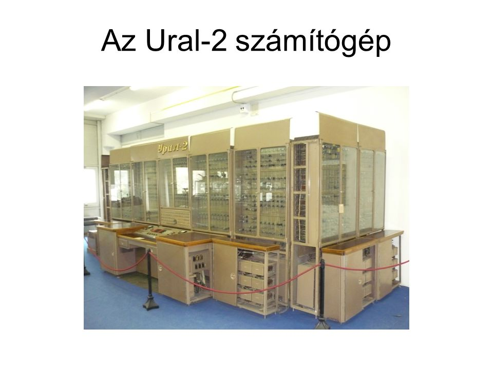 Az Ural-2 számítógép