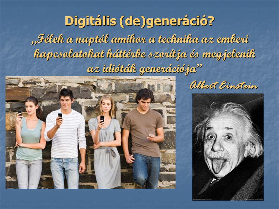 Digitális (de)generáció