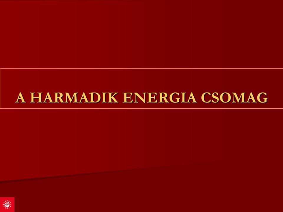 A HARMADIK ENERGIA CSOMAG