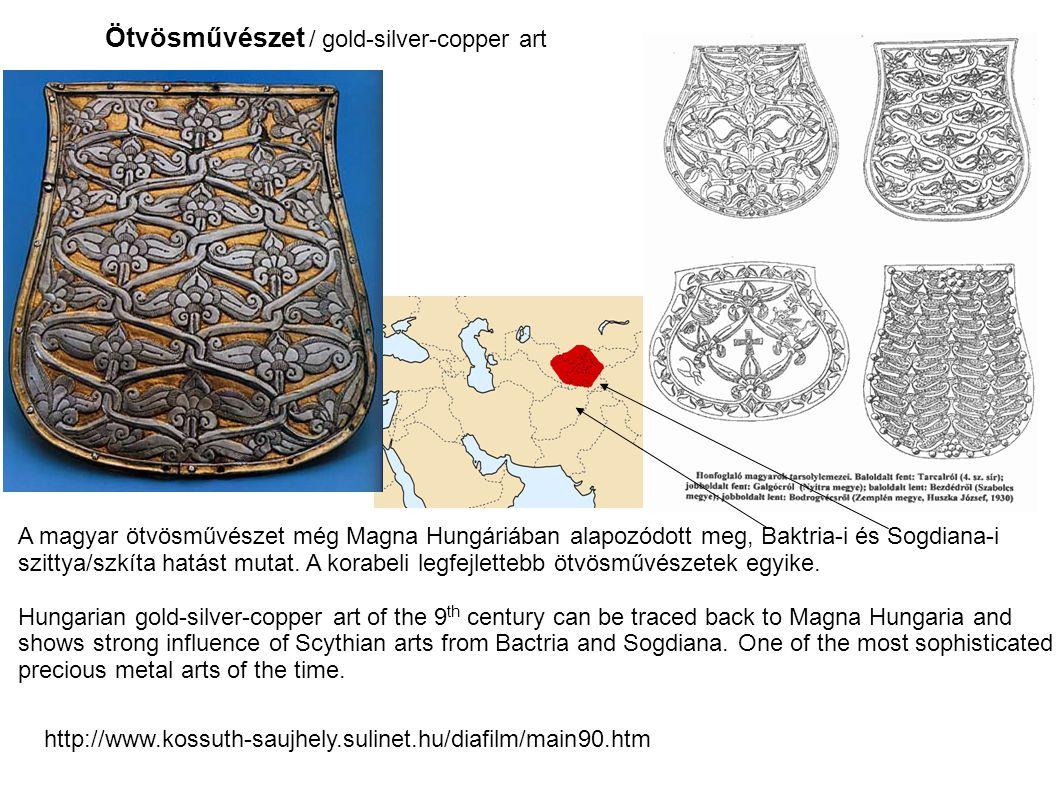 Ötvösművészet / gold-silver-copper art