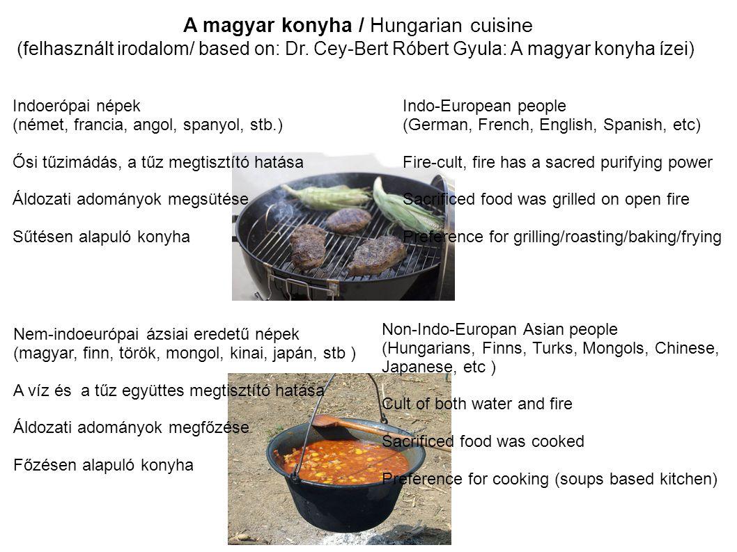 A magyar konyha / Hungarian cuisine