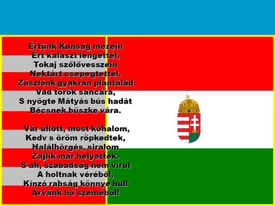 Zászlónk gyakran plántálád Vad török sáncára,