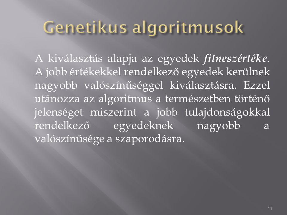 Genetikus algoritmusok