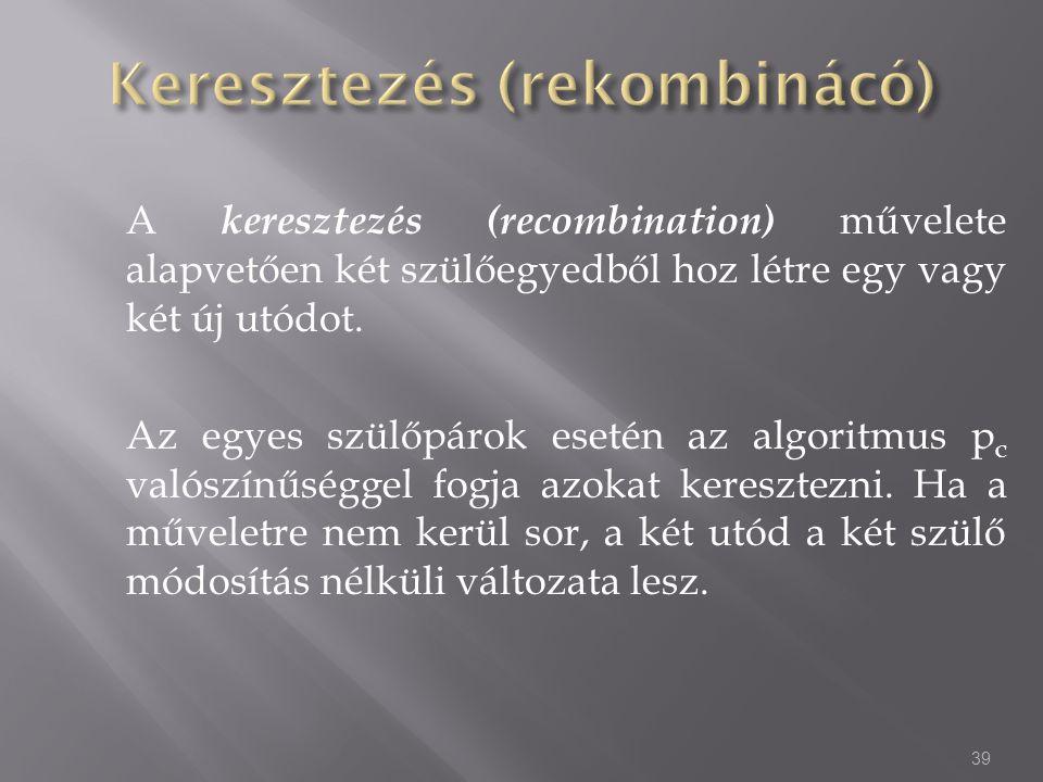 Keresztezés (rekombinácó)