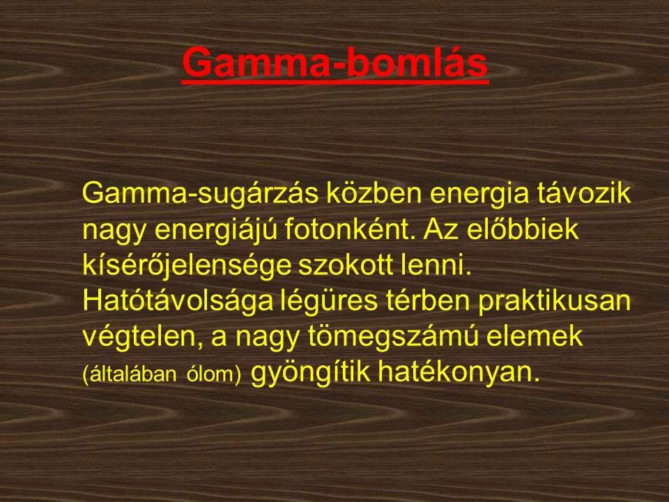 Gamma-bomlás