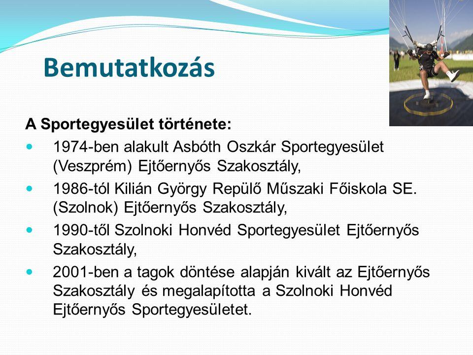 Bemutatkozás A Sportegyesület története: