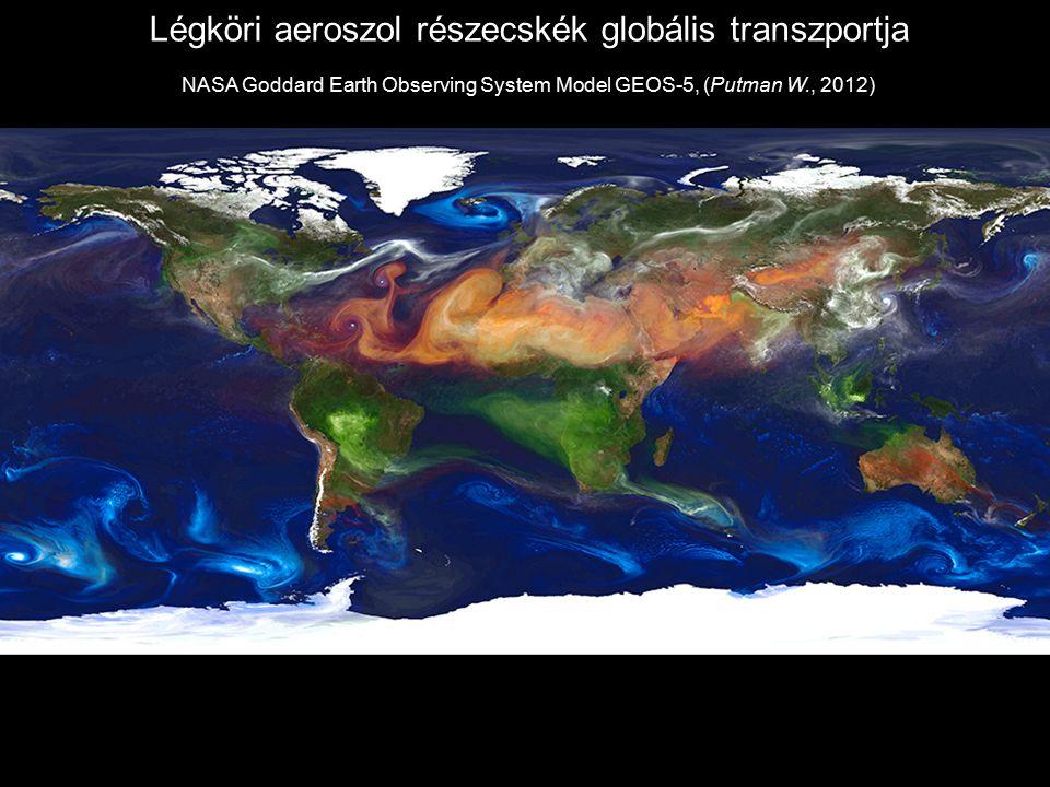 Légköri aeroszol részecskék globális transzportja