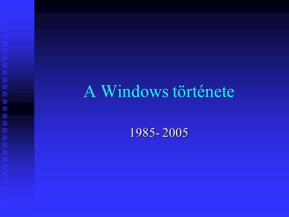 A Windows története 1985- 2005