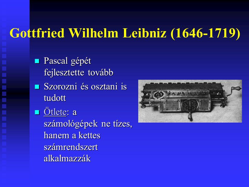 Gottfried Wilhelm Leibniz (1646-1719)