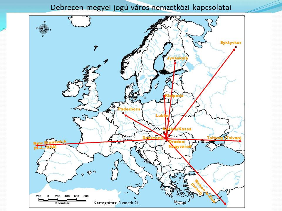 Debrecen megyei jogú város nemzetközi kapcsolatai