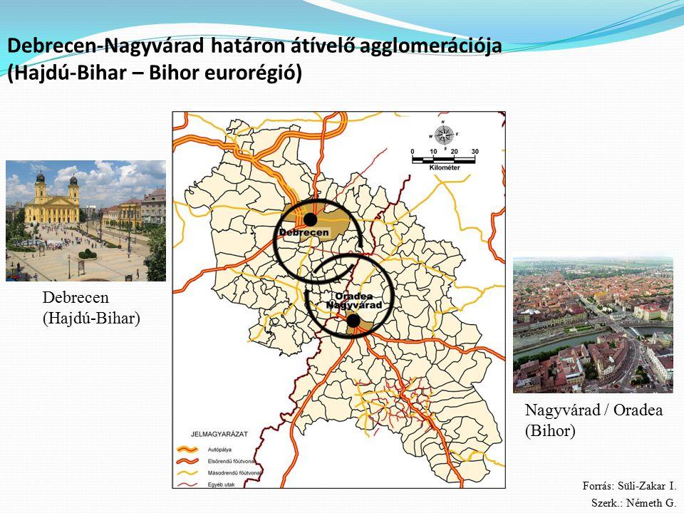 Debrecen-Nagyvárad határon átívelő agglomerációja (Hajdú-Bihar – Bihor eurorégió)
