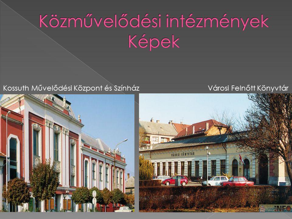 Közművelődési intézmények Képek